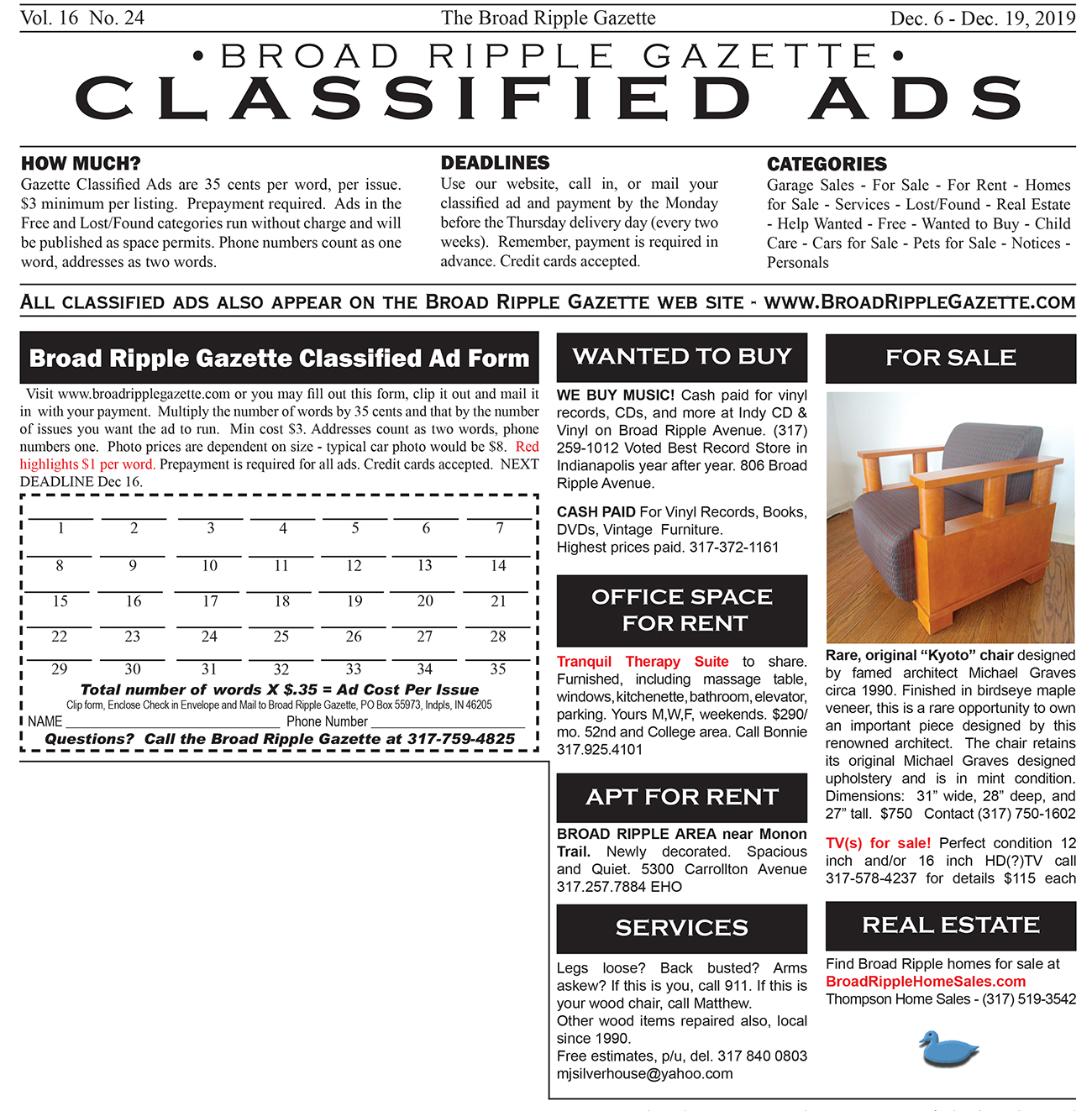 full sized classified