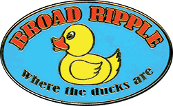 Broad Ripple Rubber Duck Pin